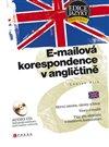 Obálka knihy E-mailová korespondence v angličtině