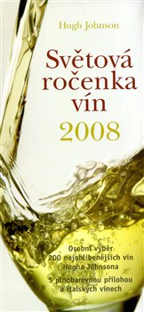 Obálka titulu Světová ročenka vín 2008