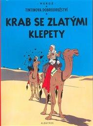Tintin - Krab se zlatými klepety
