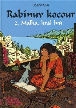 Obálka titulu Rabínův kocour (II.díl Malka, král lvů)