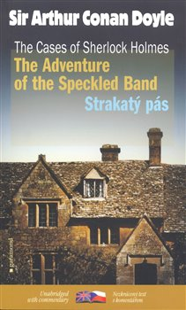 Obálka titulu Strakatý pás/The Adventure of the Speckled Band