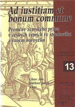 Obálka titulu Ad iustitiam et bonum commune