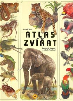 Obálka titulu Atlas zvířat