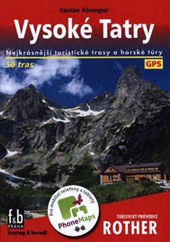Obálka titulu Vysoké Tatry - Turistický průvodce Rother