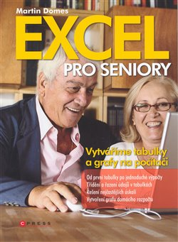 Obálka titulu Excel pro seniory