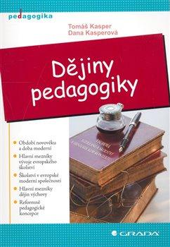 Obálka titulu Dějiny pedagogiky