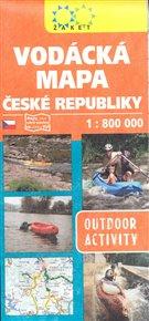 Vodácká mapa ČR 1:800 000