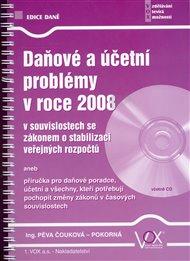 Daňové a účetní problémy v roce 2008