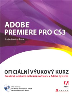 Obálka titulu Adobe Premiere Pro CS3