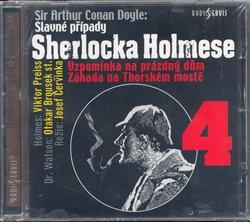 Obálka titulu Slavné případy Sherlocka Holmese 4