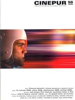 Obálka titulu Cinepur 58 (červenec/srpen 2008)