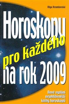 Obálka titulu Horoskopy pro každého na rok 2009