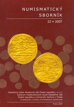 Obálka titulu Numismatický sborník 22/2007
