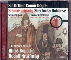 Obálka titulu Slavné případy Sherlocka Holmese 1