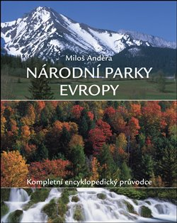 Obálka titulu Národní parky Evropy