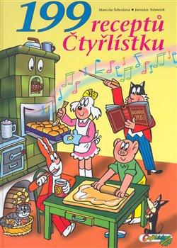 Obálka titulu 199 receptů Čtyřlístku