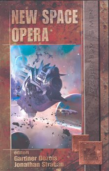 Obálka titulu New space opera
