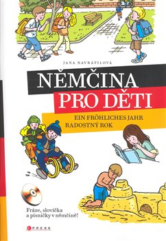 Obálka titulu Němčina pro děti