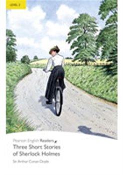Obálka titulu Three Short Stories of Sherlock Holmes (MP3 CD pack)