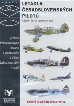 Obálka titulu Letadla československých pilotů