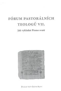 Obálka titulu Fórum pastorálních teologů VII.