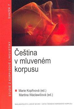 Obálka titulu Čeština v mluveném korpusu