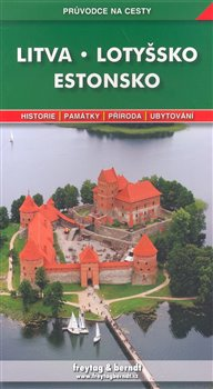 Obálka titulu Litva, Lotyšsko, Estonsko - průvodce