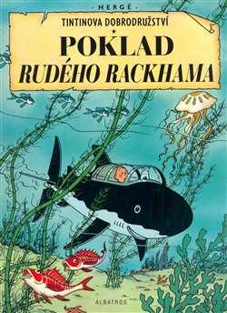Obálka titulu Tintin - Poklad Rudého Rackhama