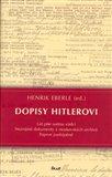 Dopisy Hitlerovi - obálka