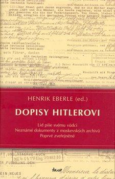 Obálka titulu Dopisy Hitlerovi