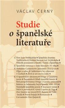 Obálka titulu Studie o španělské literatuře