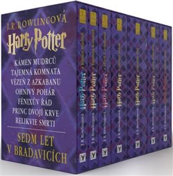 Obálka titulu Harry Potter - komplet 1-7