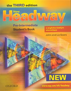 Obálka titulu New Headway Pre-Intermediate 3rd edition - Student´s Book with Czech wordlist OUP