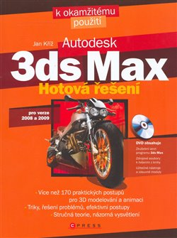 Obálka titulu 3ds max + DVD