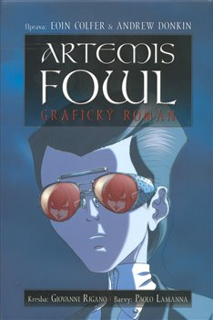Obálka titulu Artemis Fowl (komiks)