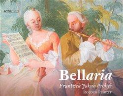 Obálka titulu Bellaria . Rococo Painter