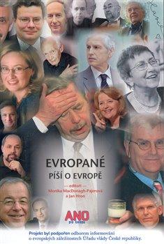 Obálka titulu Evropané píší o Evropě