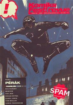 Obálka titulu KomiksFest! revue 03/2009