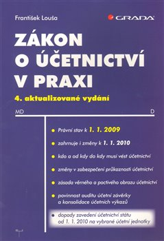 Obálka titulu Zákon o účetnictví v praxi