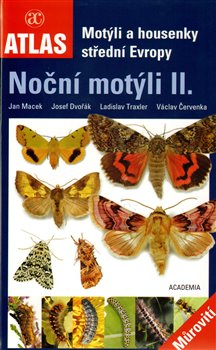Obálka titulu Motýli a housenky střední Evropy. Noční motýli II.