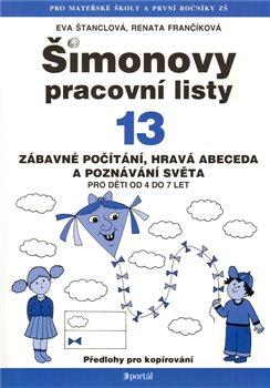 Obálka titulu Šimonovy pracovní listy 13