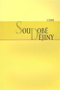 Obálka titulu Soudobé dějiny 1/2008