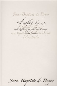 Obálka titulu Filosofka Tereza