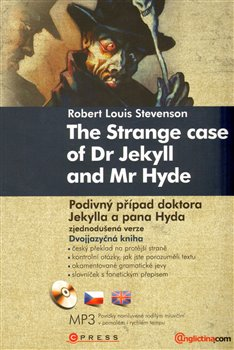 Obálka titulu Podivný případ doktora Jekylla a pana Hyda/The Strange Case of Dr Jekyll and Mr Hyde