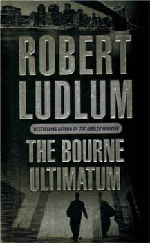 Obálka titulu The Bourne Ultimatum