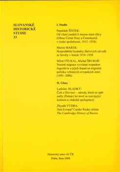 Obálka titulu Slovanské historické studie 33