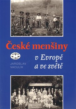 Obálka titulu České menšiny v Evropě a ve světě
