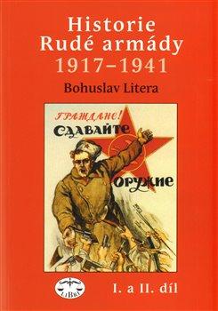 Obálka titulu Historie Rudé armády 1917-1941, I. a II.