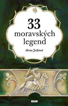 Obálka titulu 33 moravských legend