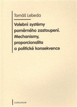 Obálka titulu Volební systémy poměrného zastoupení